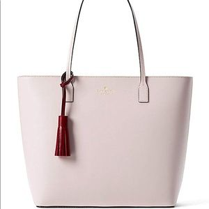 Kate Spade ♠️ NWT Pink Tote Bag With Tassel